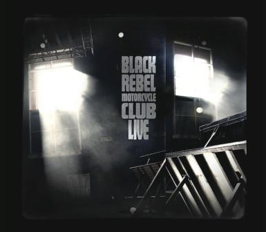 BRMC LIVE DVD Cover Art from BRMC MySpace