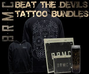 Beat The Devil's Tattoo Merch Collection